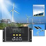 Solarzellen,Hehilark Laderegler Solar der Dimmer Solar 30 A Laderegler Solar der des Solarpanel Solar Generator 48 V LCD