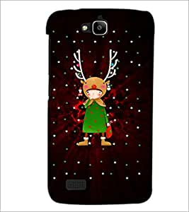 PrintDhaba Cartoon D-3090 Back Case Cover for HUAWEI HONOR HOLLY (Multi-Coloured)