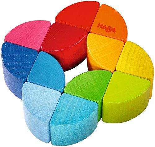 Haba 2411 Greifling Regenbogen-Ring, Kleinkindspielzeug