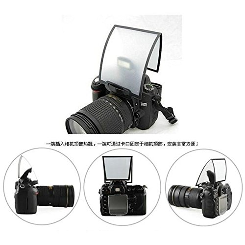 SHOPEE Universal Pop-up Flash Diffuser Soft Box For Canon Nikon Sigma Camera Newest Q  available at amazon for Rs.135
