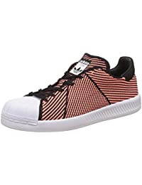 adidas SUPERSTAR BOUNCE PK W - Zapatillas deportivas para Mujer, Negro - (NEGBAS/BRISOL/FTWBLA) 38