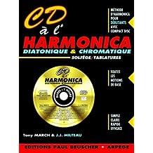 Partition : CD a l'harmonica J.J. Milteau