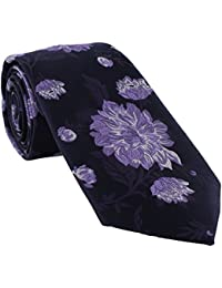 Large Floral Polyester Tie