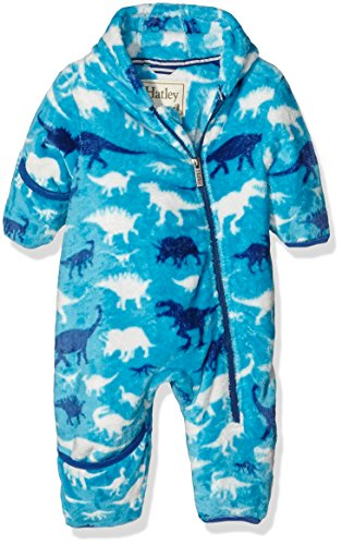 Hatley Fleece Bundler - Silhouette Dinos Pull Bébé garçon, 24 Mois