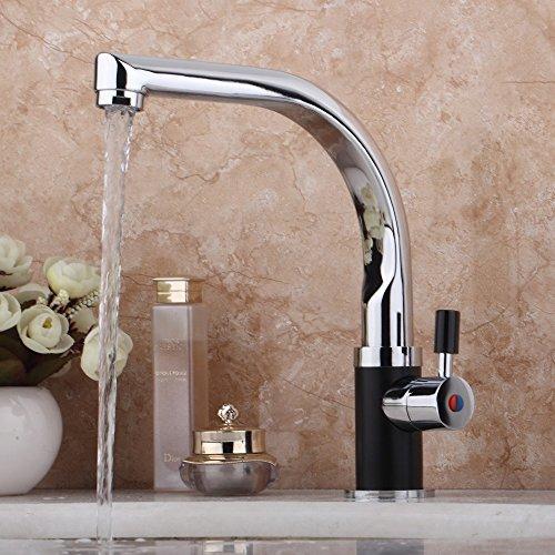 Retro Deluxe FaucetingDigital Anzeige Instant heißes Leitungswasser Tankless Electric Wasserhahn Bad Wasserhahn Wasser Heizung Elektrische Warmwasserbereiter Leitungswasser (Wasser-heizung Tankless)