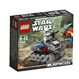 Lego, Star Wars Microfighters Series 1, Clone Turbo Tank (75028) - LEGO