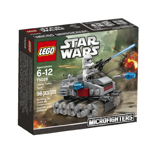 Lego, Star Wars Microfighters Series 1, Clone Turbo Tank (75028) -