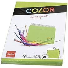 Elco Color 74618.62 - Sobre (C5, 100 g), color verde