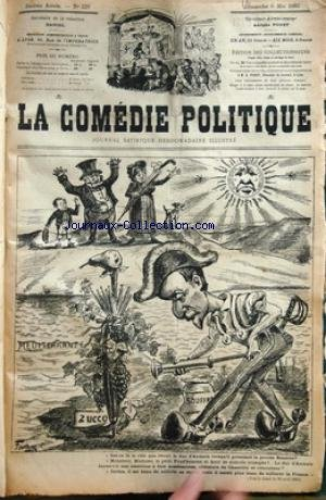 COMEDIE POLITIQUE (LA) [No 229] du 06/05/1883