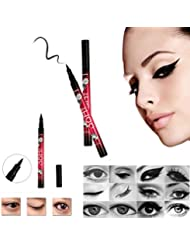 LEORX Waterproof Liquid Eyeliner Pen and Eyeliner Shaper for Eye Makeup Cosmetics