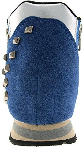Maxstar  JO-H, Chaussons montants femme Bleu - bleu