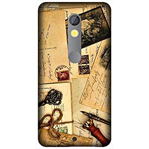 Motorola Moto X Play Printed Back Cover By Winchip - Multicolor