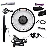 SHIOUCY Hub Motor 48V / 36V E-Bike Motor Hub Electric Bicycle Conversion Kits 26