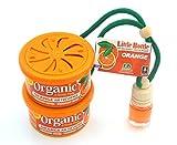 L&D 2 + 1 Duft Trio in der Duftsorte Orange. 2 x Organic Scent Duftdose + 1 Little Bottle Duftflakon Lufterfrischer