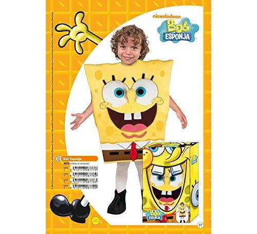 Imagen de disfraz de bob esponja en caja regalo 7 9 años