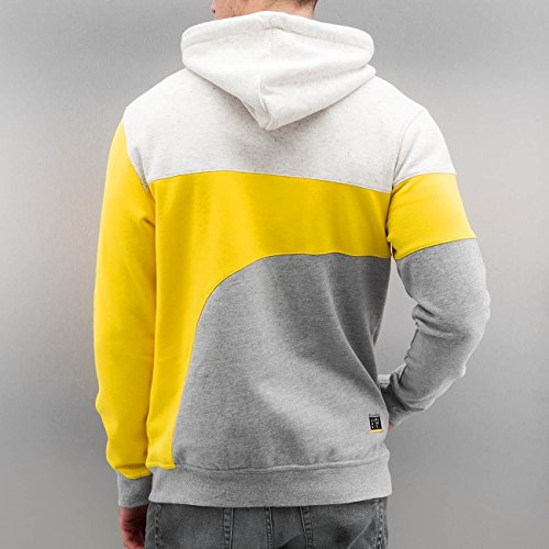 Just Rhyse Uomo Maglieria / Hoodies con zip Rusher Giallo