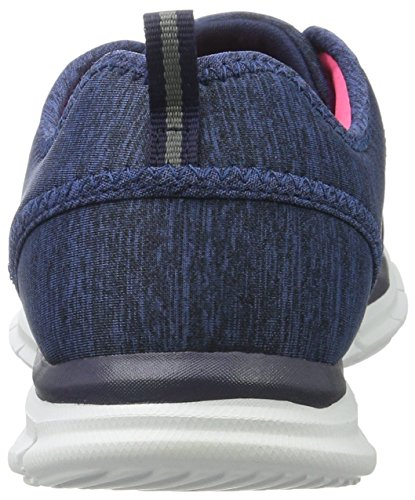 Skechers GLIDER Electricity, Sneakers basses femme Bleu (Nvy)