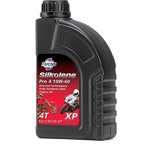 Fuchs-Silkolene Silkolene pro 4 10w60 xp (Olio Motore 4T) / Silkolene pro 4 10w60 xp (Engine Oil 4T)