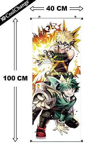 CoolChange Poster para enrollar /Kakemono de My Hero...