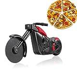 shuny-Squisita Taglia Pizza per Moto, taglierina per Pizza in plastica per Moto, taglierina per Pizza in Acciaio Inox