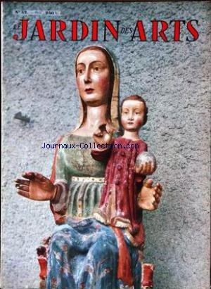 JARDIN DES ARTS [No 52] du 01/02/1959 - PERSEPOLIS SURGIT DU DESERT JOHN ROBERT COZENS par  Collectif