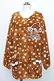 Bambi Bore Applique Smock Apron Disney Character 22053087 (Japan Import)