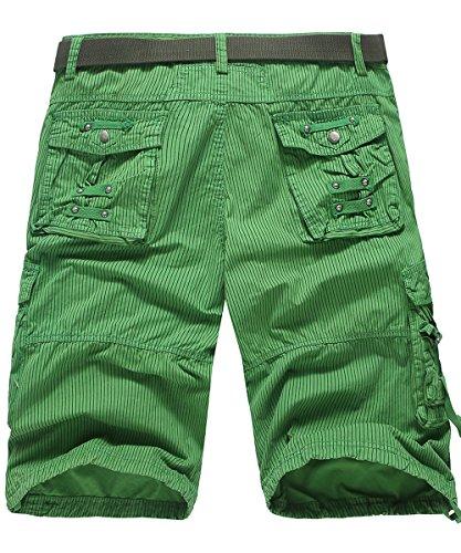 EHOMEBUY -  Pantaloncini  - Uomo Verde 1