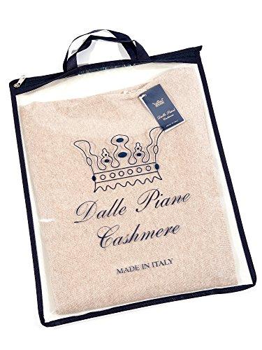Dalle Piane Cashmere - Poncho mit Knöpfen aus Kaschmir-Gemisch - für Damen Beige