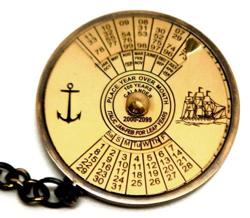 mondo-tempo-e-calendario-perpetuo-ottone-anticato-portachiavi