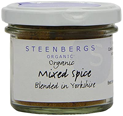 Steenbergs Organic Mixed Spice 44 g (Pack of 3)