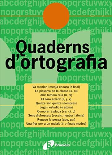 Quadern d'ortografia 5 (Català - Material Complementari - Quaderns D¿Ortografia) - 9788483047699
