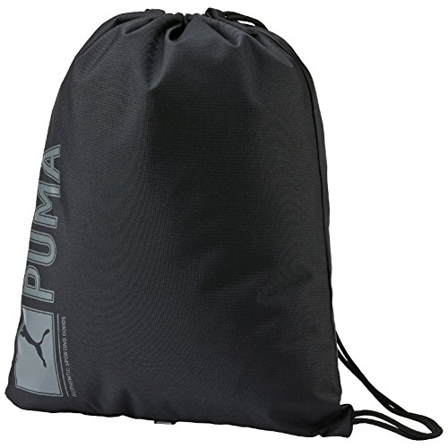PUMA Turnbeutel Pioneer Gym Sack, black, 21.8 x 12.5 x 47 cm, 14.5 liter, 073468 01