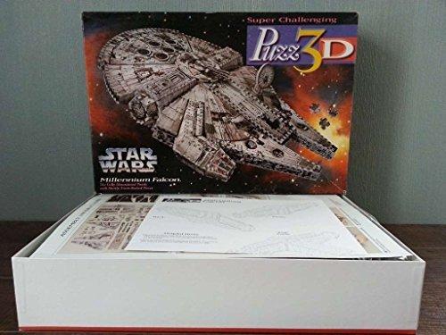 Star Wars Millennium Falcon 3d Puzzle by Wrebbit