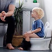 Nuby Dr. Talbot's My Real Potty - Orinal para Niños a partir de 18 Meses, con Sonido y Pilas Incluidas,