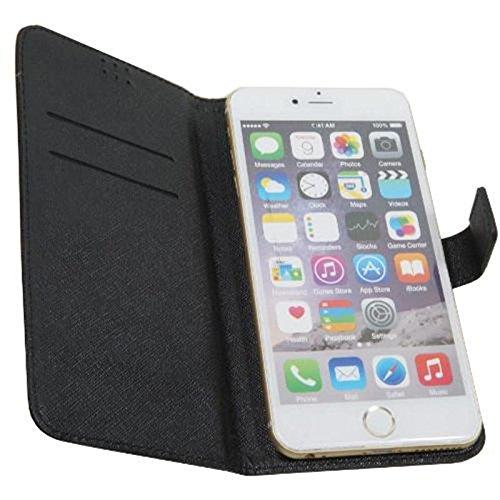 andyhandyshop Tasche für Smartphone Timmy M7, Kunstleder, 160 x 85 x18mm, schwarz