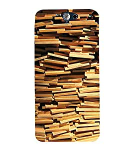 Bricks pattern Back Case Cover for HTC One A9