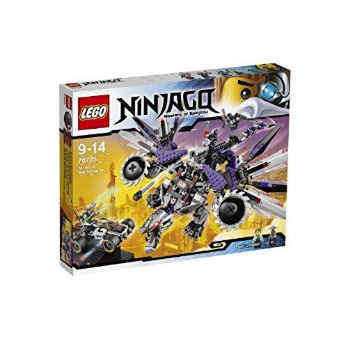 LEGO - 70725 - Ninjago - Jeu de Construction - L'Attaque du Dragon Nindroïde