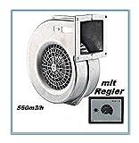 Ventilatore Aluminio AG-140E con 550m³/h con 500W Regolatore di Velocità Industriale Ventilatore aspiratori ventilazione centrifugo ventilacion ventilatore radiale axiale ventola estrattore tubulare