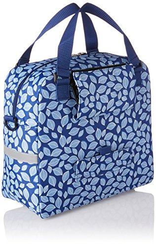 New Looxs Tasche Cameo Tracolla Foglia Blk 16,5l Poliestere 35x32x15cm Blu