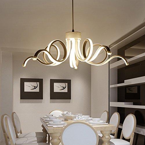 Yxx max *Pendant Light Lámpara Moderna Led Lámpara Lustre Novedad Lámpara Lámpara Luz Interior para Dormitorio Chandeliers Lighting (Color : 5 headLED dimming Chandelier)