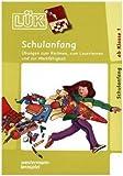 LÜK-Set: Schulanfang: Übungen zum Rechnen, zum Lesenlernen und zur Merkfähigkeit ab Klasse 1: Das bunte Lernspiel mit lustigen Aufgaben für ... mit 24 Plättchen, ein Doppelband