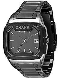 "Freestyle Hombre 101818""Killer Shark"" acero inoxidable reloj con Negro Enlace Pulsera"