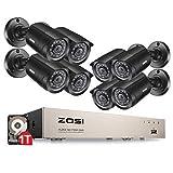 Best Zosi Vision Cameras - ZOSI TVI 720P 8CH DVR Enregistreur Vidéo avec Review