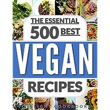 VEGAN: VEGAN DIET FOR BEGINNERS: TOP 500 EASY VEGAN RECIPES (English Edition)