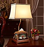 Europäische Tischlampe Schlafzimmer Bedside kreative handbemalte Wohnzimmer Beleuchtung Papier Handtuch Box Lagerung Lampe