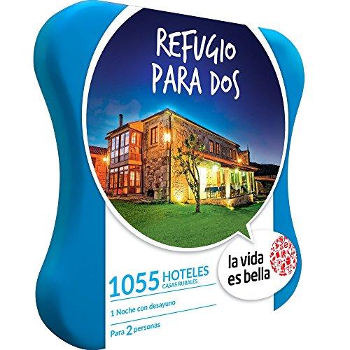 LA VIDA ES BELLA - Caja Regalo - REFUGIO PARA DOS - 1055 hoteles, casas rurales y hospederías en España, Portugal, Francia e Italia