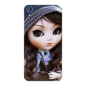 Sweet Angel Doll Multicolor Back Case Cover for HTC Desire 820