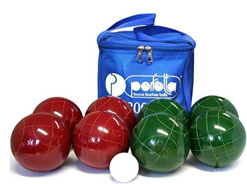 Preisvergleich Produktbild Perfetta JOLLY PROFESSIONAL boccia kit, Größe:105 mm ca. 870 g 2- Nylontasche
