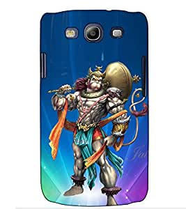 Fuson Designer Back Case Cover for Samsung Galaxy S3 I9300 :: Samsung I9305 Galaxy S Iii :: Samsung Galaxy S Iii Lte (Shaktishali Hanuman theme)