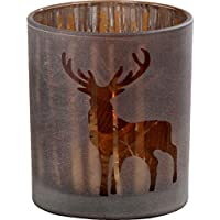 Windlicht Pieter H10cm D9cm Material: Glas lackier